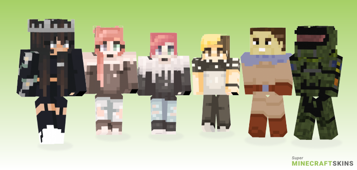 Jun Minecraft Skins - Best Free Minecraft skins for Girls and Boys