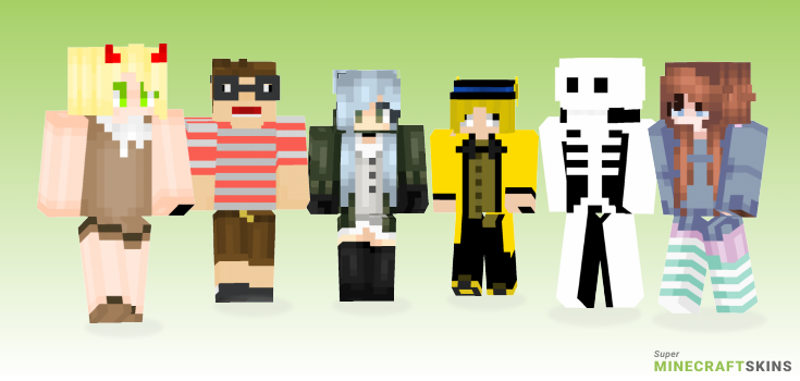 Just Minecraft Skins - Best Free Minecraft skins for Girls and Boys