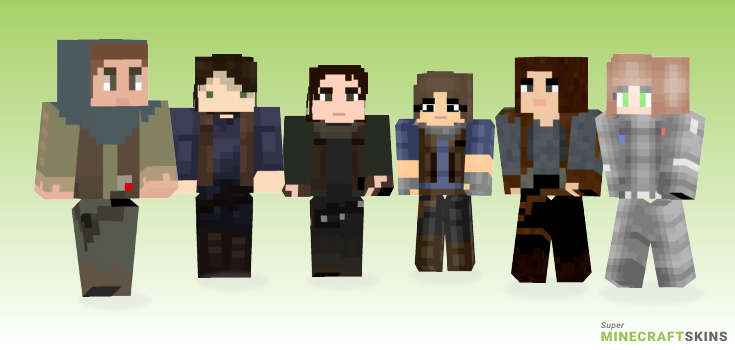 Jyn Minecraft Skins - Best Free Minecraft skins for Girls and Boys