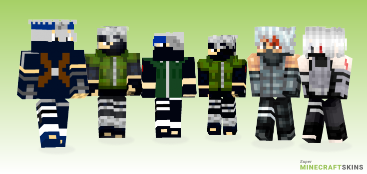 Kakashi Minecraft Skins - Best Free Minecraft skins for Girls and Boys