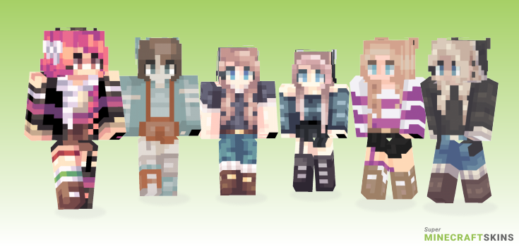 Kheise Minecraft Skins - Best Free Minecraft skins for Girls and Boys