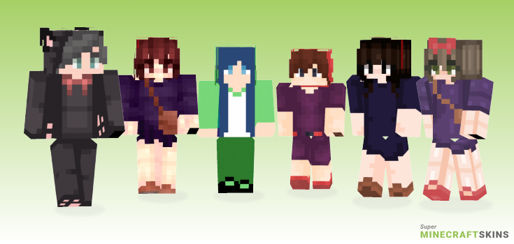 Kikis Minecraft Skins - Best Free Minecraft skins for Girls and Boys
