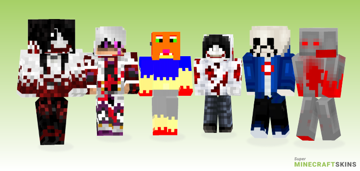 Killer Minecraft Skins - Best Free Minecraft skins for Girls and Boys