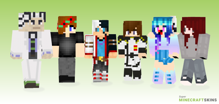 Kira Minecraft Skins - Best Free Minecraft skins for Girls and Boys
