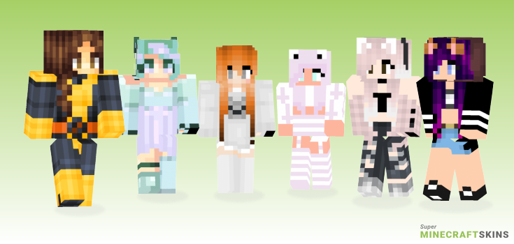 Kitty Minecraft Skins - Best Free Minecraft skins for Girls and Boys
