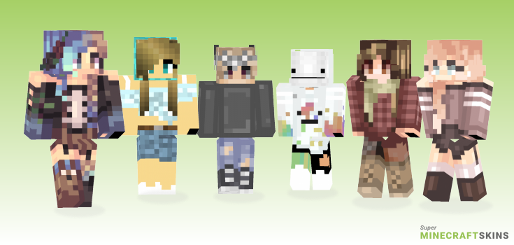 Know Minecraft Skins - Best Free Minecraft skins for Girls and Boys