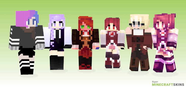 Kyoko Minecraft Skins - Best Free Minecraft skins for Girls and Boys