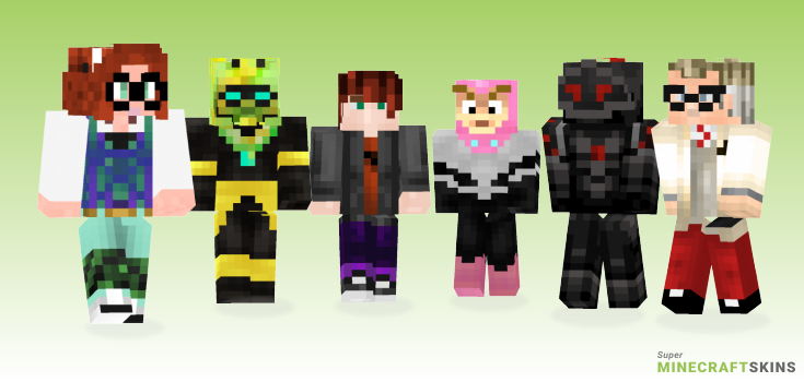 Ladybug Minecraft Skins - Best Free Minecraft skins for Girls and Boys