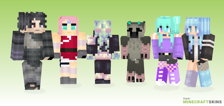 Last Minecraft Skins - Best Free Minecraft skins for Girls and Boys