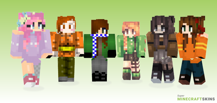 Late Minecraft Skins - Best Free Minecraft skins for Girls and Boys