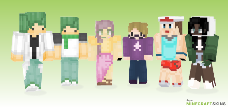 Leaf Minecraft Skins - Best Free Minecraft skins for Girls and Boys