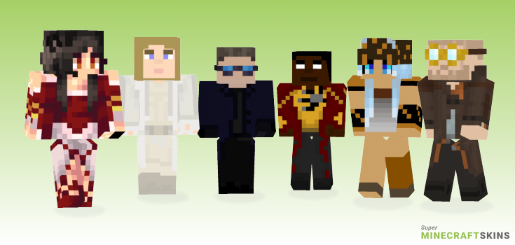Legends Minecraft Skins - Best Free Minecraft skins for Girls and Boys