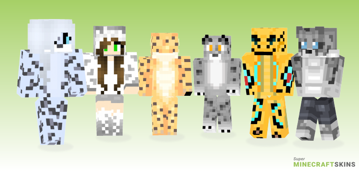 Leopard Minecraft Skins - Best Free Minecraft skins for Girls and Boys