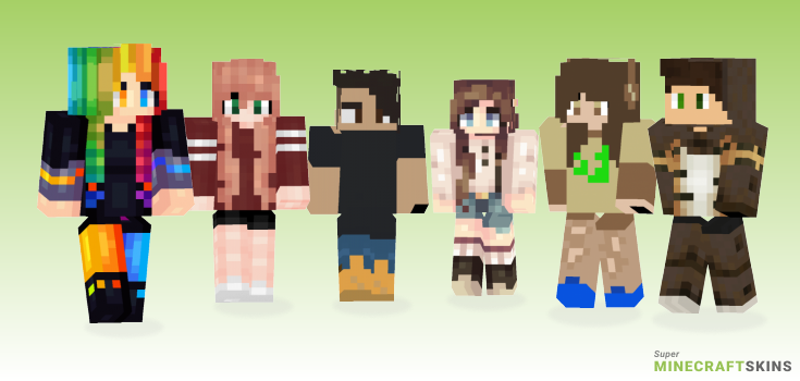Life Minecraft Skins - Best Free Minecraft skins for Girls and Boys