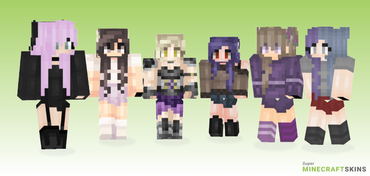 Lilac Minecraft Skins - Best Free Minecraft skins for Girls and Boys