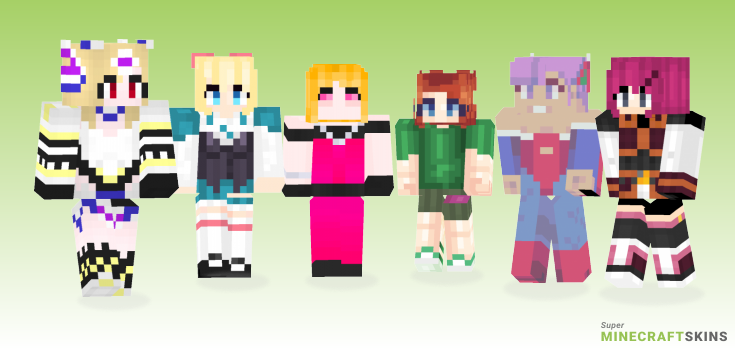 Lilith Minecraft Skins - Best Free Minecraft skins for Girls and Boys