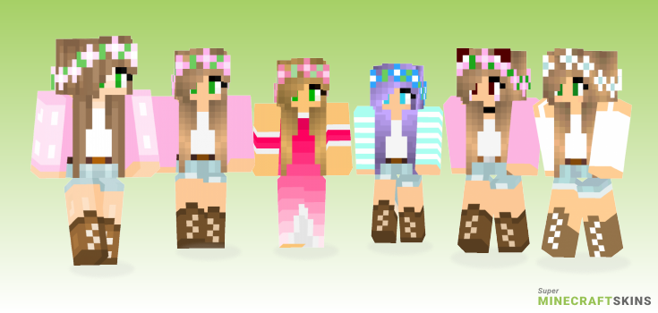 Little kelly Minecraft Skins  Download for free at