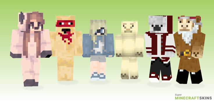 Llama Minecraft Skins - Best Free Minecraft skins for Girls and Boys