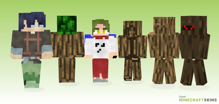 Log Minecraft Skins - Best Free Minecraft skins for Girls and Boys