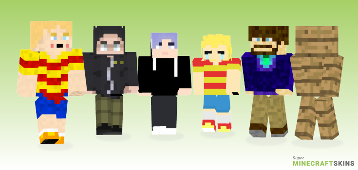 Lucas Minecraft Skins - Best Free Minecraft skins for Girls and Boys