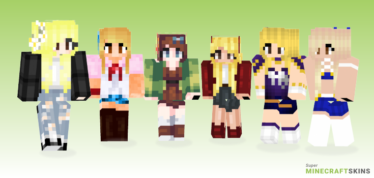 Lucy Minecraft Skins - Best Free Minecraft skins for Girls and Boys