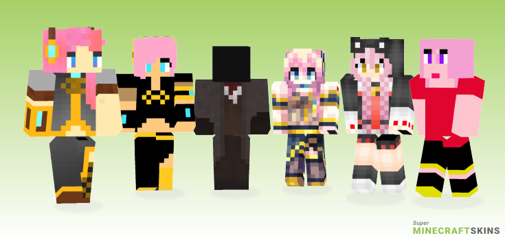 Luka Minecraft Skins - Best Free Minecraft skins for Girls and Boys