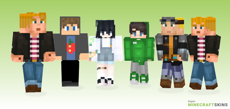 Lukas Minecraft Skins - Best Free Minecraft skins for Girls and Boys