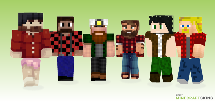 Lumberjack Minecraft Skins - Best Free Minecraft skins for Girls and Boys