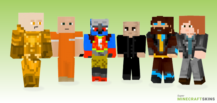 Luthor Minecraft Skins - Best Free Minecraft skins for Girls and Boys