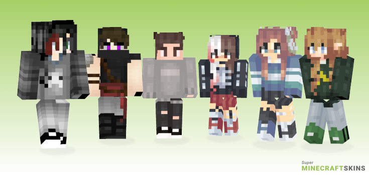 Main Minecraft Skins - Best Free Minecraft skins for Girls and Boys