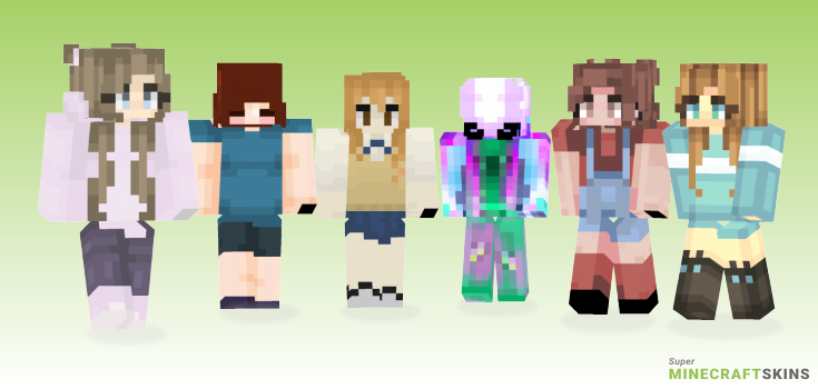Make Minecraft Skins - Best Free Minecraft skins for Girls and Boys