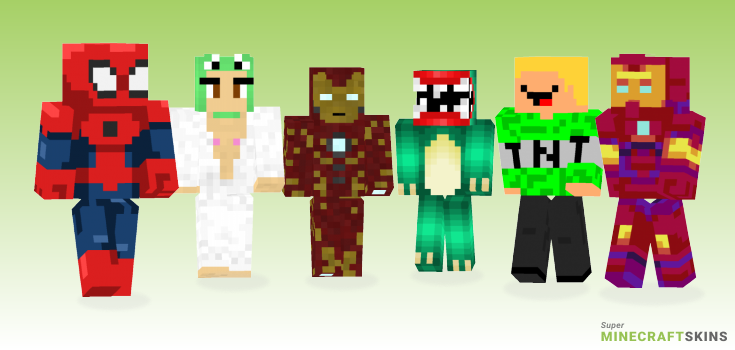 Man Minecraft Skins - Best Free Minecraft skins for Girls and Boys