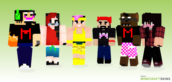 Markiplier Minecraft Skins - Best Free Minecraft skins for Girls and Boys