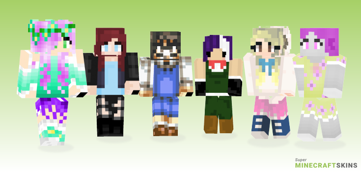 Mary Minecraft Skins - Best Free Minecraft skins for Girls and Boys