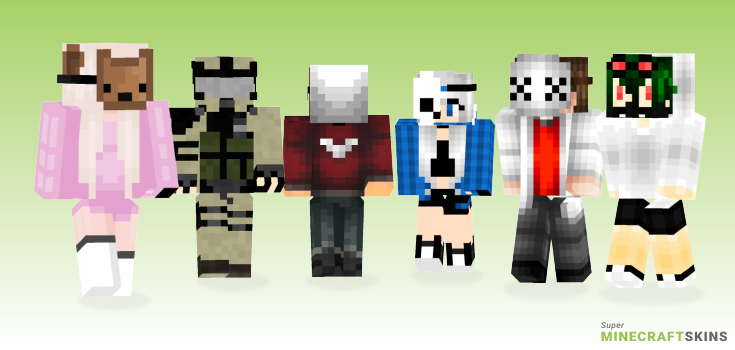 Mask Minecraft Skins - Best Free Minecraft skins for Girls and Boys