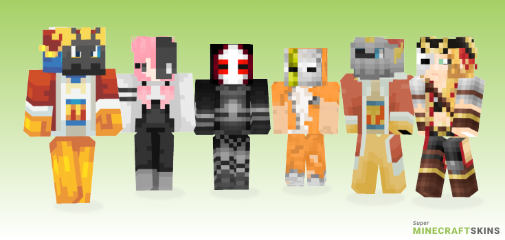 Masked Minecraft Skins - Best Free Minecraft skins for Girls and Boys