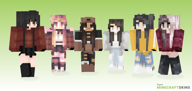 Maybe Minecraft Skins - Best Free Minecraft skins for Girls and Boys