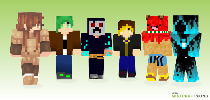 Mc Minecraft Skins - Best Free Minecraft skins for Girls and Boys