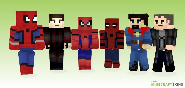 Mcu Minecraft Skins - Best Free Minecraft skins for Girls and Boys