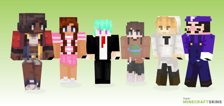 Mean Minecraft Skins - Best Free Minecraft skins for Girls and Boys