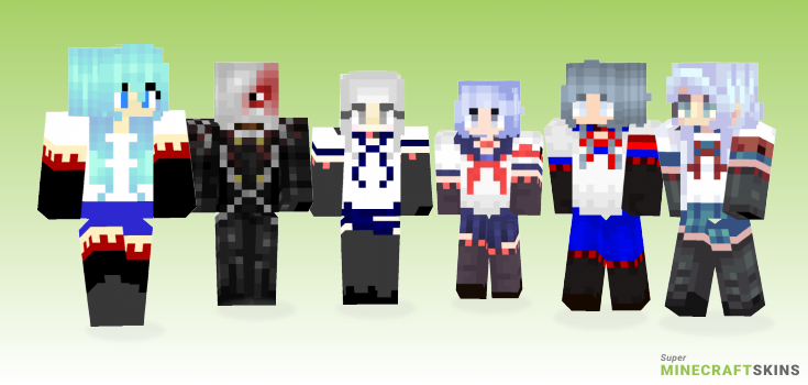 Megami Minecraft Skins - Best Free Minecraft skins for Girls and Boys