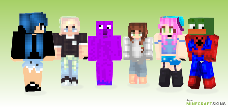 Memes Minecraft Skins - Best Free Minecraft skins for Girls and Boys