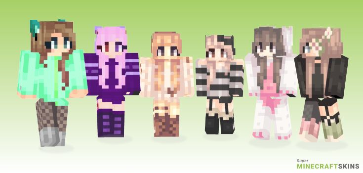 Memories Minecraft Skins - Best Free Minecraft skins for Girls and Boys