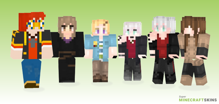 Messenger Minecraft Skins - Best Free Minecraft skins for Girls and Boys