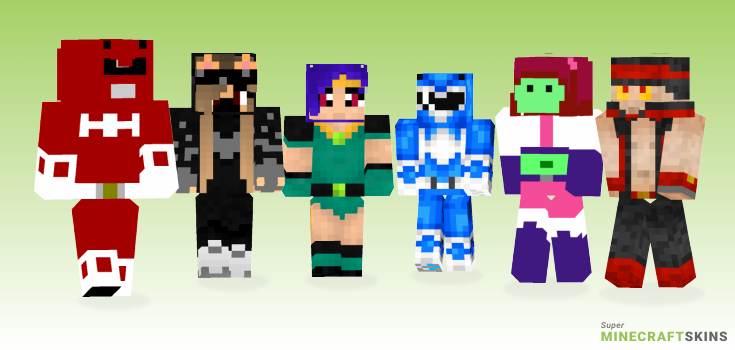 Mighty Minecraft Skins - Best Free Minecraft skins for Girls and Boys
