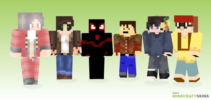 Miles Minecraft Skins - Best Free Minecraft skins for Girls and Boys
