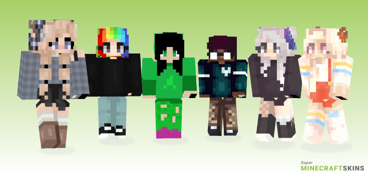 Mind Minecraft Skins - Best Free Minecraft skins for Girls and Boys