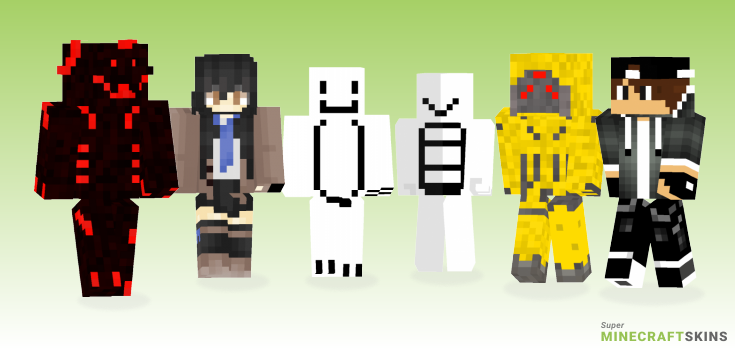 Mine Minecraft Skins - Best Free Minecraft skins for Girls and Boys