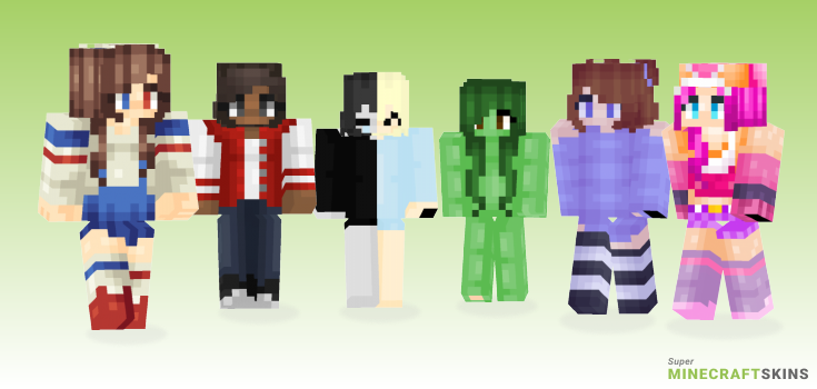 Miss Minecraft Skins - Best Free Minecraft skins for Girls and Boys