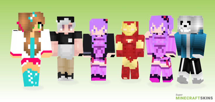 Model Minecraft Skins - Best Free Minecraft skins for Girls and Boys